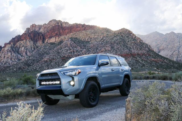 2017 Toyota 4Runner 5th Gen TRD PRO Cement Grey Offroading Overland Modifications Build List Cement Grey