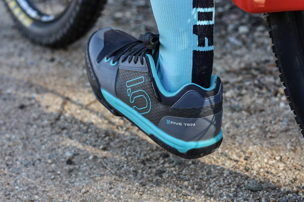 Review of the Women's Five Ten Freerider Mountain Bike Shoe | A high performance mountain bike shoe | #mountainike | scoutofmind.com