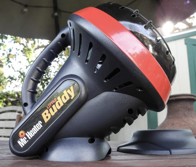 Mr. Heater Lil Buddy Camping Heater Review | A great #camping propane heater for your outdoor adventures! | scoutofmind.com