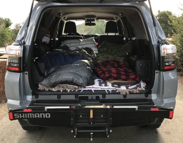 A helpful guide for sleeping in your car while camping or on your next road trip | #camping | scoutofmind.com