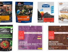 dehydrated freeze-dried vegetarian meals for camping backpacking #scoutofmind
