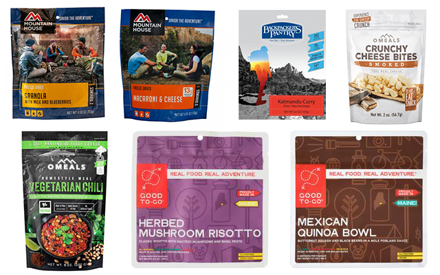 Dehydrated Freeze Dried Vegetarian Meals For Camping Backpacking Scoutofmind