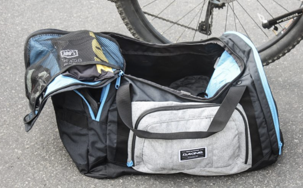 Review of the Dakine Descent Duffel 70 | Mountain Bike and Snowboard Gear Bag | scoutofmind.com