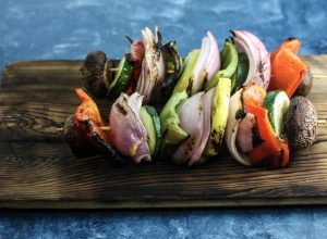 Grilled Vegetable Skewers Recipe | An easy and delicious camp food recipe! | scoutofmind.com