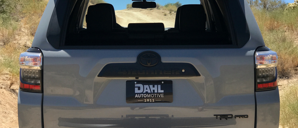 How to Blackout Your Toyota 4Runner Emblems - Scout of Mind