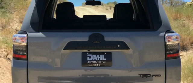 4Runner Emblem Blackout Overlay Blackout Kit | #scoutofmind