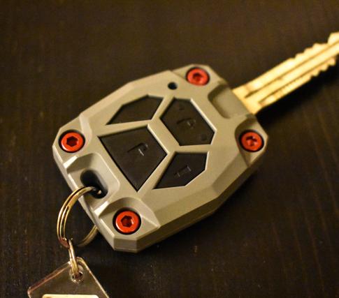 4runner upgraded key fob 5th gen AJT design | #scoutofmind