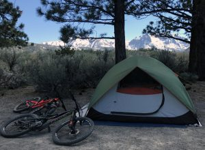 June Lake Oh Ridge Campsite