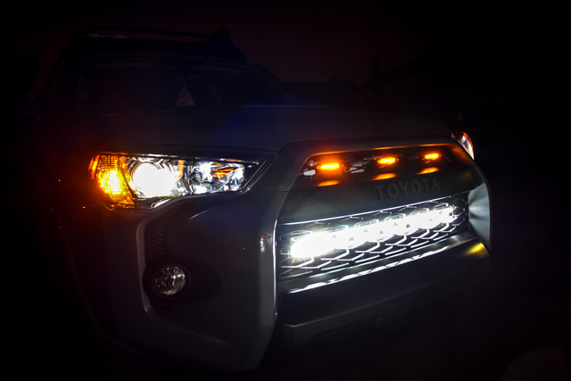 amber led grill market lights wiring harness 4runner toyota | #scoutofmind