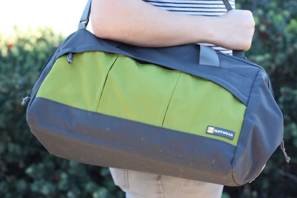Ruffwear Haul Bag | A dog gear bag to carry your dogs essentials during travel | scoutofmind.com