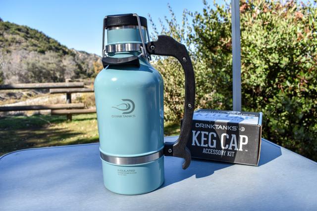 DrinkTanks | Mini-Keg | Growler | Keg Cap | TapIt | Keg Kit | How to Growler Mini-Keg | DrinkTanks Review | #scoutofmind