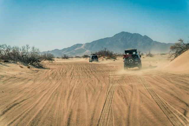 off roading mojave trail toyota fj cruiser | #scoutofmind