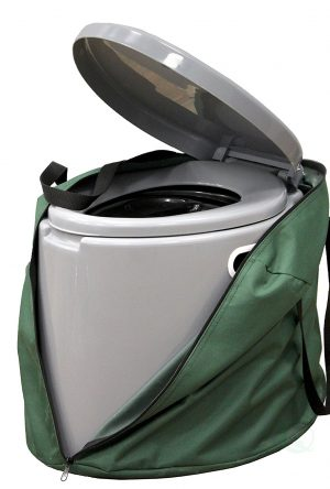 A guide to going to the bathroom while #camping | Featuring products that will make your #outdoor bathroom experience comfortable, sanitary and environmentally friendly| www.scoutofmind.com
