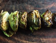 Easy Grilled Brussels sprouts Recipe   Easy #camprecipe side dish   scoutofmind.com
