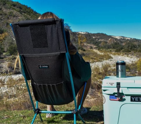 helinox chair two review   camping chair