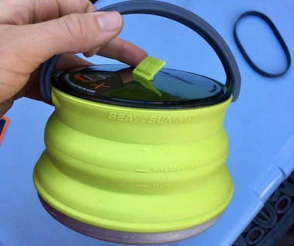 Sea to Summit X-Kettle Collapsible Pot